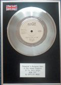 "Depeche Mode - 7"" Platinum Disc - New Life"